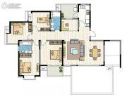 新加坡尚锦城4室2厅2卫171平方米户型图