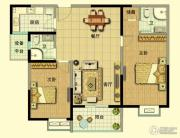 山泽园2室2厅2卫0平方米户型图