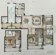 中梁・首府壹号4室2厅4卫182平方米户型图