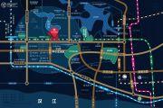 融创观澜府交通图