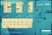 双城故事40--60平方米户型图