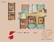 弘阳上湖3室2厅2卫114平方米户型图