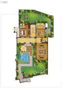 荣安山语湖苑4室0厅0卫255平方米户型图