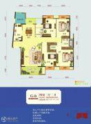怡景江南4室2厅2卫155--157平方米户型图