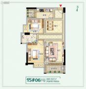 龙泉丽景2室2厅1卫0平方米户型图