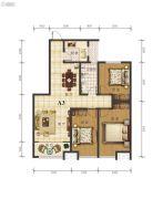 宇丰・玉龙苑3室2厅1卫127--128平方米户型图