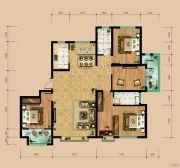 东岳国际4室2厅2卫180平方米户型图