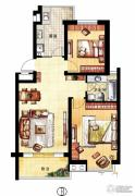 凤凰花园2室2厅0卫92平方米户型图