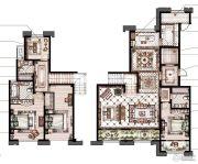 御庭园5室2厅3卫201平方米户型图
