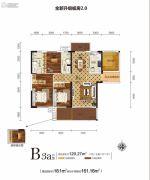 新华联・梦想城5室2厅2卫120平方米户型图
