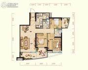 阳光城丽景湾3室2厅2卫112平方米户型图