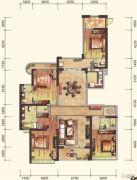 雅居乐・御宾府4室4厅0卫210平方米户型图