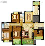 南通万达广场4室2厅2卫141平方米户型图