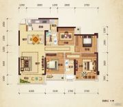 路桥锦绣国际4室2厅2卫119平方米户型图