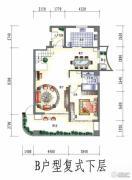 三江国际花园5室3厅3卫245平方米户型图