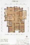大港御景新城3室2厅2卫180平方米户型图