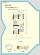 三一歌雅郡3室2厅2卫104--105平方米户型图