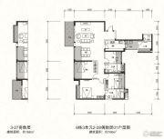 信和御龙山4室2厅3卫166平方米户型图