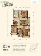 金地艺境4室2厅2卫118平方米户型图