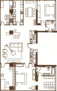 中鹰黑森林3室0厅0卫0平方米户型图