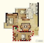 海客瀛洲2室1厅1卫85平方米户型图