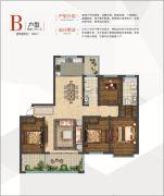 安泰・名筑4室2厅2卫186平方米户型图