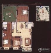 嘉城尚郡3室2厅2卫135平方米户型图