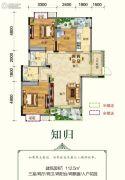 连山鼎府3室2厅2卫112平方米户型图