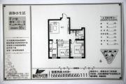 巨鹰・时尚印象2室1厅1卫68平方米户型图