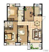 中电颐和府邸4室2厅2卫128平方米户型图