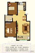 东郡2室2厅1卫94--97平方米户型图