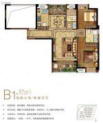 保利・叁仟栋2室1厅2卫0平方米户型图
