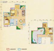 弘乐府・公园1号5室2厅2卫133平方米户型图