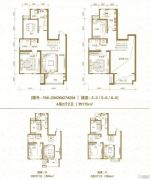 棠悦4室2厅2卫175平方米户型图