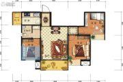 德杰国际城2室2厅1卫89平方米户型图