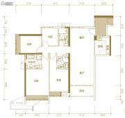 富力公主湾4室2厅3卫155平方米户型图