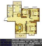 宿迁盛世嘉园3室2厅1卫115--120平方米户型图