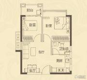 龙腾嘉园2室2厅1卫53平方米户型图