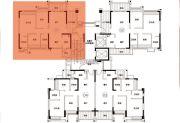 君汇尚品3室2厅2卫111平方米户型图