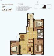 凡尔赛诗城3室2厅1卫0平方米户型图