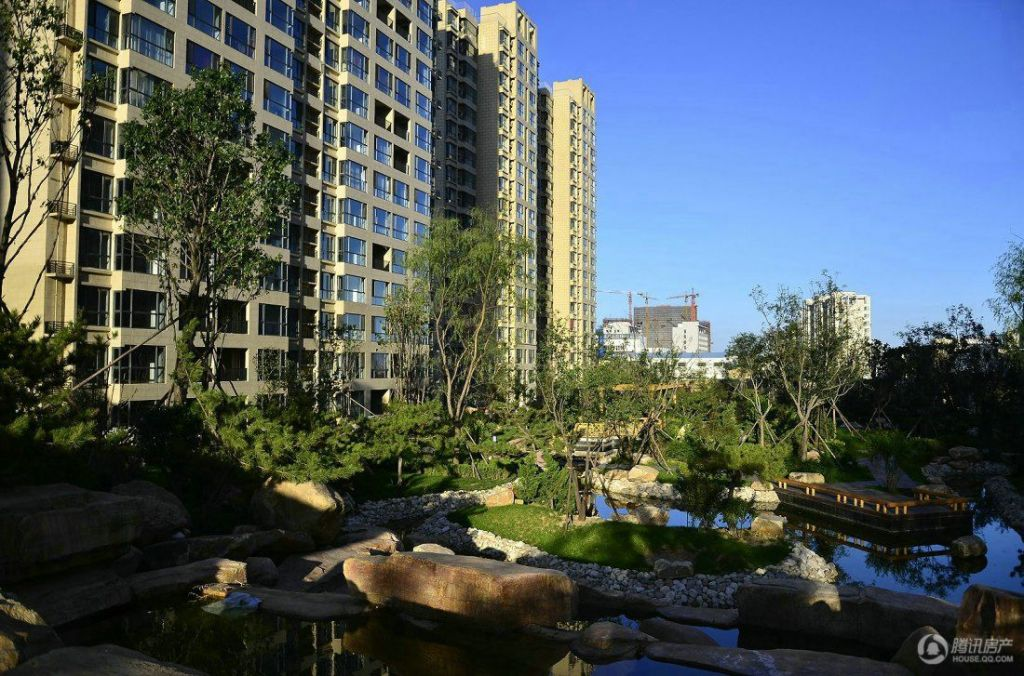 中铁诺德滨海花园实景图