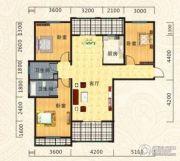 海德公园3室2厅2卫126平方米户型图