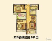 晋开四季城2室2厅1卫0平方米户型图