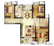 苏宁天御广场3室2厅1卫111平方米户型图
