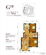 南岸花园东区2室2厅1卫0平方米户型图