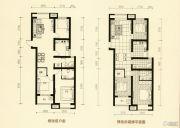 美林・尚东一号3室2厅2卫124平方米户型图