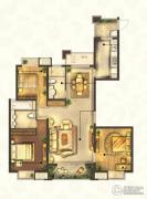 城置御水华庭3室2厅2卫140平方米户型图