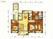 碧桂园半山龙庭4室2厅2卫147平方米户型图