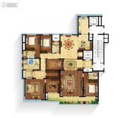 江湾城4室2厅3卫330平方米户型图