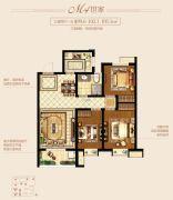 新城里3室2厅1卫99--105平方米户型图
